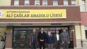 15-03-2018 ALİ ÇAĞLAR ANADOLU LİSESİ PROGRAMIMIZ..