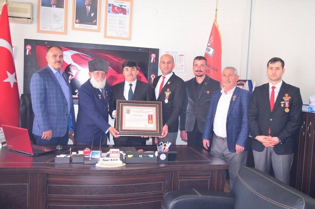 01-05-2019 KAMİL MİRAS ANADOLU LİSESİ'NE ZİYARET