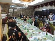 İscehisar Kaymakamlığı Şehit Aileleri ve Gazilere İftar Yemeği Düzenledi
