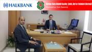 BAŞKAN KUMARTAŞLI'DAN HALK BANK KOCATEPE ŞUBESİNE TEŞEKKÜR