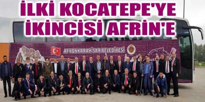 İLKİ KOCATEPE'YE İKİNCİSİ AFRİN'E