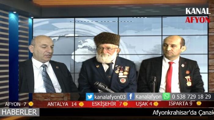 İSMAİL KUMARTAŞLI KANAL AFYON VE ARMONİ FM'DE