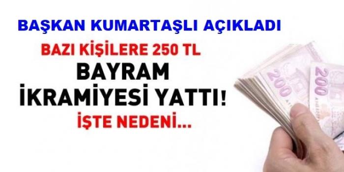 250 TL BAYRAM İKRAMİYESİ! İŞTE NEDENİ