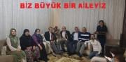 BAŞKAN KUMARTAŞLI GAZİ CANER KAN'I GAZİLER İLE EVİNDE ZİYARET ETTİ...