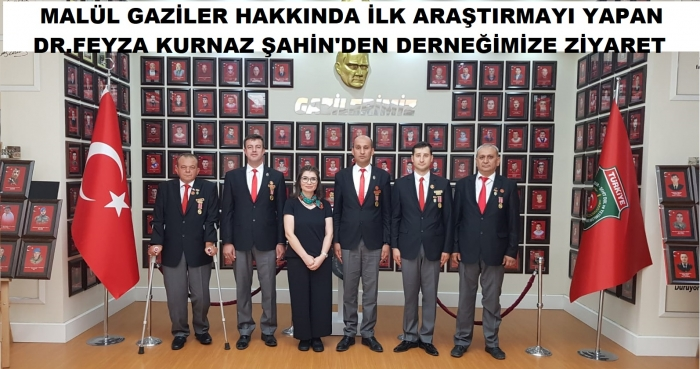 DR.FEYZA KURNAZ ŞAHİN'DEN DERNEĞİMİZE ZİYARET