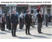 Sultandağı'nda 19 Eylül Gaziler Günü törenle kutlandı 19 09 2020